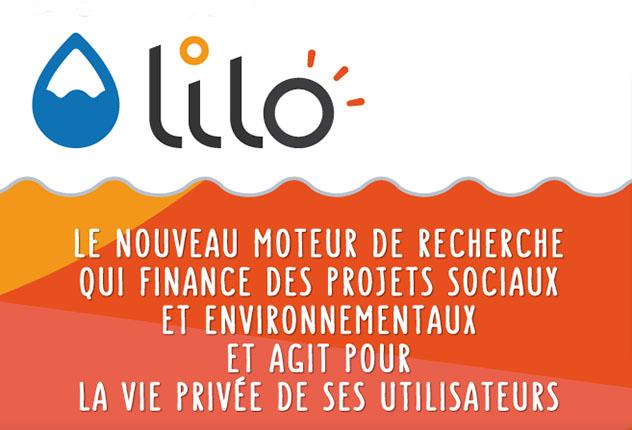 Un moteur de recherche solidaire : LILO