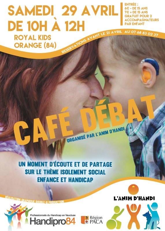L'anim d'handi café débat du 29 avril 2017