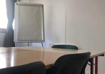 salle de réunion : paperboard