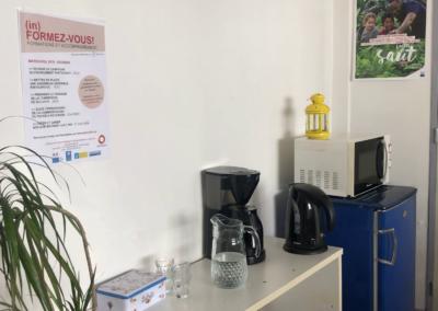 salle de réunion : coin café