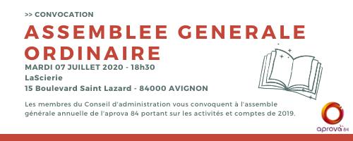 Assemblée générale 2020 : inscrivez-vous