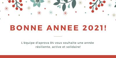 2021 : Nouvelle année, nouvel élan